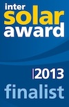 Apricus Finalist in Intersolar Awards 2013